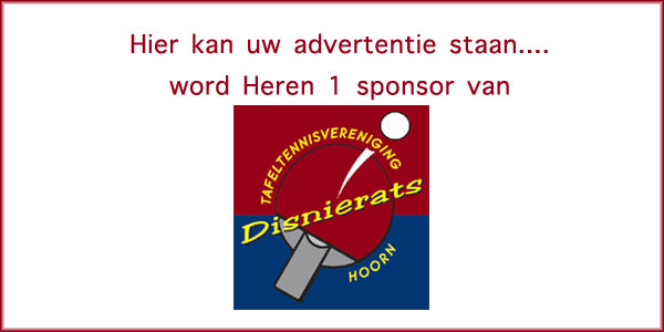Word sponsor van Heren 1
